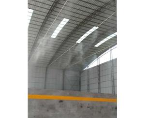 郑州料厂喷雾降尘设备