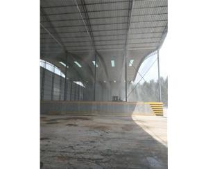 郑州料厂喷雾降尘系统