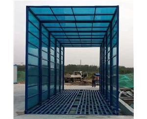 郑州工程洗轮机控制方式