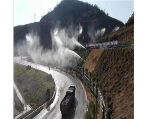 邯郸道路喷雾除尘设备