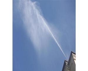 济南喷雾降尘设备雾桩