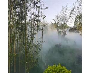 镇江景观人造雾施工